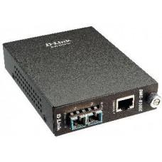 D-LINK 1000BaseT to 1000BaseLX (SC) Singlemode Media Conv