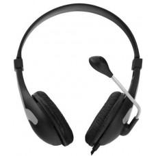 Esperanza Stereofonní sluchátka s mikrofonem Esperanza Rooster, černá
