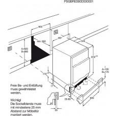 Electrolux ERN1300AOW CHLADNIČKA VESTAVNÁ MONOKLIMATICKÁ