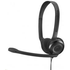 Sennheiser PC 5 CHAT black (černý) headset - oboustranná sluchátka s mikrofonem