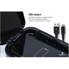 Screenshield UV sterilizátor pro mobilní telefony a drobné předměty, bílá