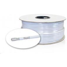 Kábel koaxiálny RG6 4 vrstvy, 100m kotúč