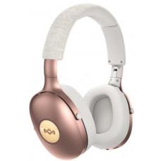 Marley Positive Vibration XL Bluetooth 5.0 - Copper, sluchátka přes hlavu s ovladačem a mikrofonem