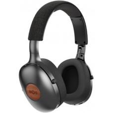 Marley Positive Vibration XL Bluetooth 5.0- Signature Black, sluchátka přes hlavu s ovladačem a mic