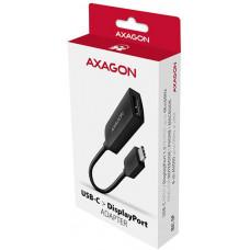 Axagon RVC-DP, USB-C -> DisplayPort redukce / adaptér, 4K/60Hz