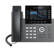 Grandstream GRP2615 [VoIP telefon - 5x SIP účet, HD audio, 40 prog.tl+10 předvoleb, 2xLAN 1Gbps