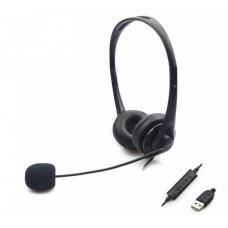 Sandberg sluchátka SAVER s mikrofonem, konektor USB, stereo