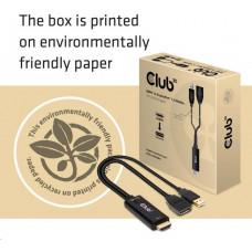 Club 3D Club3D adaptér aktivní HDMI na DisplayPort 4K60Hz