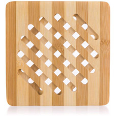 podložka dřevěná 18x18x1cm BRILLANTE bambus