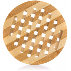 podložka dřevěná pr.18x1cm BRILLANTE bambus
