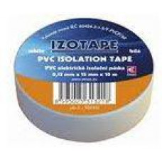 PREMIUMCORD Izolační páska PVC 15/10 bílá