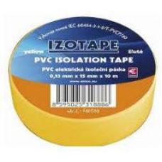 PREMIUMCORD Izolační páska PVC 15/10 žlutá