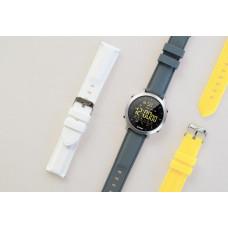 Sponge náhradní pásky pro Smartwatch SURFWATCH, 3ks - šedý, žlutý a bílý