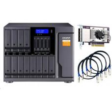 QNAP TL-D1600S - úložná jednotka JBOD SATA (12x SATA + 4x 2,5