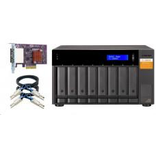 QNAP TL-D800S - úložná jednotka JBOD SATA (8x SATA), desktop