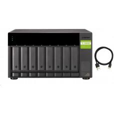QNAP TL-D800S - úložná jednotka JBOD USB 3.2 (8x SATA), desktop
