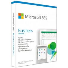 MICROSOFT 365 Business Standard P6 Mac/Win, 1 rok, CZ