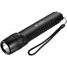 Sandberg Survivor Torch PowerBank 10400 mAh, svítilna s powebank, černá
