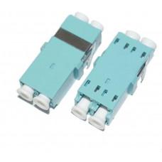 OEM Optická spojka LC multi mode duplex OM3 bez příruby