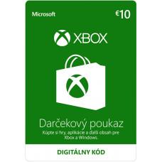ESD XBOX - Dárková karta Xbox 10 EUR