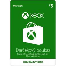 ESD XBOX - Dárková karta Xbox 5 EUR