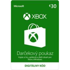 ESD XBOX - Dárková karta Xbox 30 EUR
