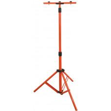 Solight stojan teleskopický pro LED reflektory, 60-150cm, pro 1-2 reflektory, oranžová barva