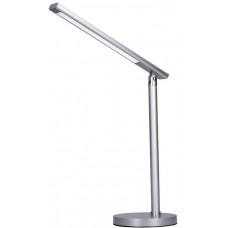 Solight LED stolní lampička, 7W, stmívatelná, změna chromatičnosti, stříbrná barva