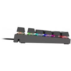 GENESIS Mechanická klávesnice Genesis Thor 300 TKL RGB, US layout, RGB podsvícení, software, Outemu