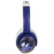 Buddyphones COSMOS - Dragons dětská bluetooth sluchátka, modrá
