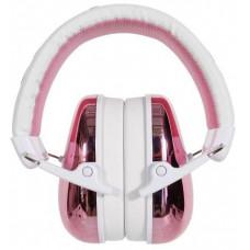 Buddyphones GUARDIAN - dětská ochranná sluchátka SNR 25, růžová