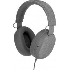 Buddyphones FOKUS - drátová sluchátka s mikrofonem, FokusMode, šedá