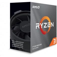 AMD cpu Ryzen 3 3300X AM4 Box (4core, 8x vlákno, 3.8GHz / 4.3GHz, 16MB cache, 65W), s chladičem