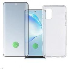 4smarts 360° Premium Protection set (tvrzené sklo UltraSonic a gelový zadní kryt) pro Samsung