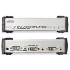 ATEN Video rozbočovač 1 PC - 2 DVI + audio