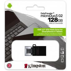KINGSTON 128GB Kingston DT MicroDuo 3 USB 3.0 (android/OTG)