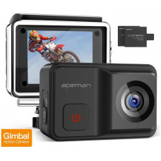 Apeman Odolná digitální kamera Apeman A85, 4K, Gimbal, vodotěsná do 30m, IP68