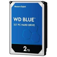 WD  WD20EZAZ hdd 2TB SATA3-6Gbps 5400rpm 256MB WD Blue 180MB/s SMR