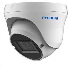 Hyundai analog kamera, 2Mpix, 25 sn/s, obj. 2,8-12mm (110°), HD-TVI / CVI / AHD / ANALOG, DC12V, IR