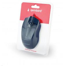 Genius GEMBIRD myš MUS-3B-01, drátová, optická, 1000 dpi, USB, černá