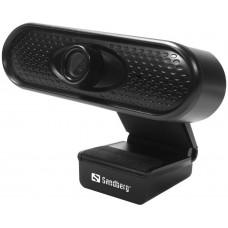 Sandberg USB Webcam 1080P HD, černá