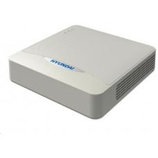 Hyundai NVR, 4 kanály, 1x HDD(až 6TB), 4xPoE (36W), FHD, 2xUSB, 1xHDMI a 1xVGA, audio in/out