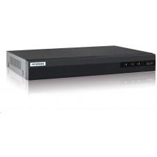 Hyundai NVR, 16 kanály, 2x HDD(až 8TB), 4K UHD, 2xUSB, 1xHDMI a 1xVGA, 4xDI, 1xDO, audio in/out