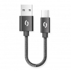 ALIGATOR Datový Kabel 2A, USB-C 50cm černý -10ks sada - Bulk