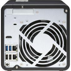 QNAP TS-453D-8G (2,7GHz / 8GB RAM / 4x SATA / 1xHDMI 4K / 1xPCIe / 2x2,5GbE / 3xUSB 2.0 / 2xUSB
