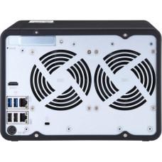 QNAP TS-653D-8G (2,7GHz / 8GB RAM / 6x SATA / 1xHDMI 4K / 1xPCIe / 2x2,5GbE / 3xUSB 2.0 / 2xUSB