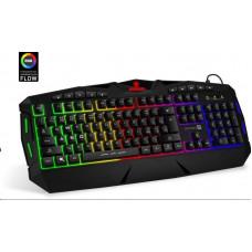 Connect IT BIOHAZARD klávesnice pro hráče, RGB podsvícení, 10 multimed. kláves, USB (CZ+SK verze)