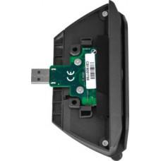 VIRTUOS Čtečka magnetických karet 1/2/3 stopy pro XPOS, USB, šedá