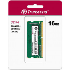 Transcend paměť 16GB (JetRam) SODIMM DDR4 2666 2Rx8 CL19