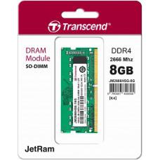 Transcend paměť 8GB (JetRam) SODIMM DDR4 2666 1Rx16 CL19
